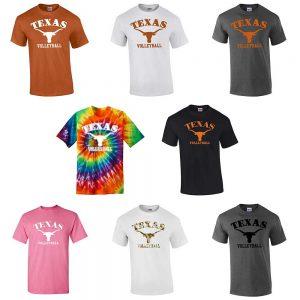 c4b0a680 Texas Volleyball Team T-Shirt – Short Sleeve